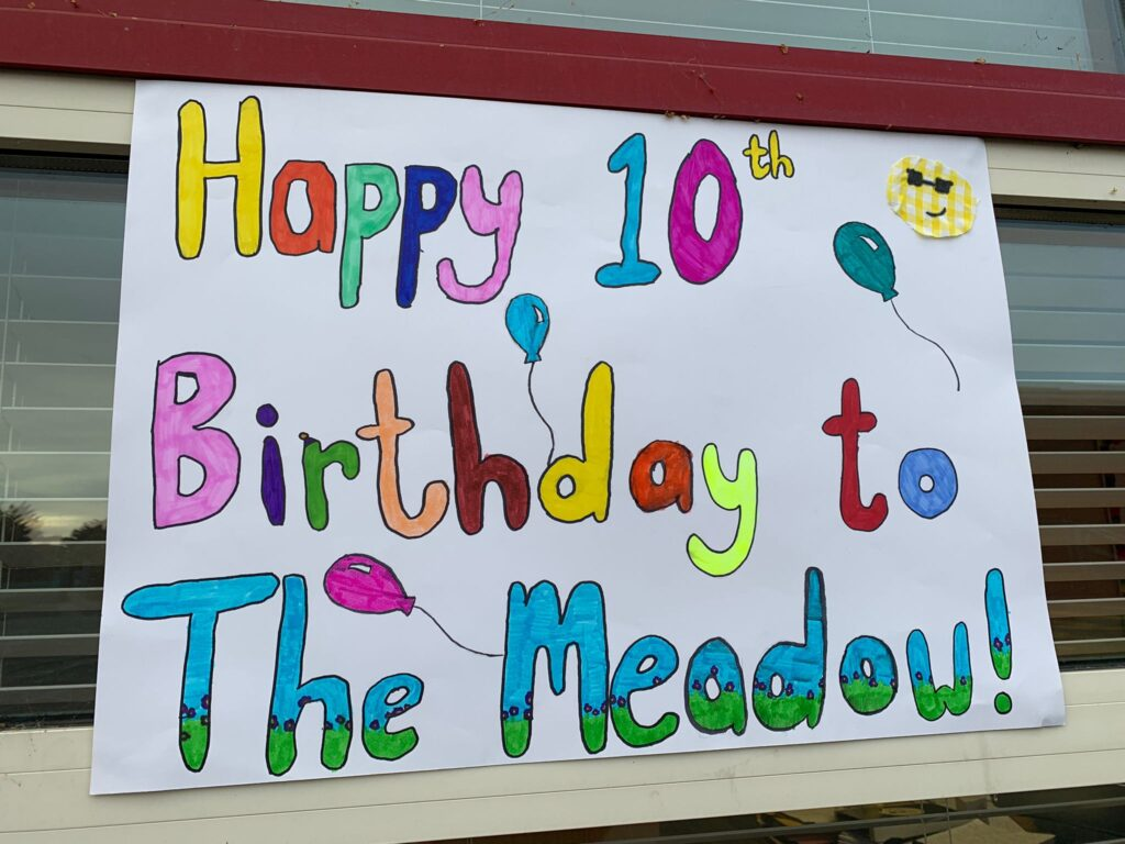 TODAY IS THE 10TH ANNIVERSARY OF THE OPENING OF THE MEADOW